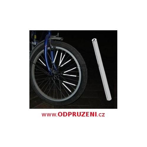 Reflexní tyčinky na dráty jízdních kol