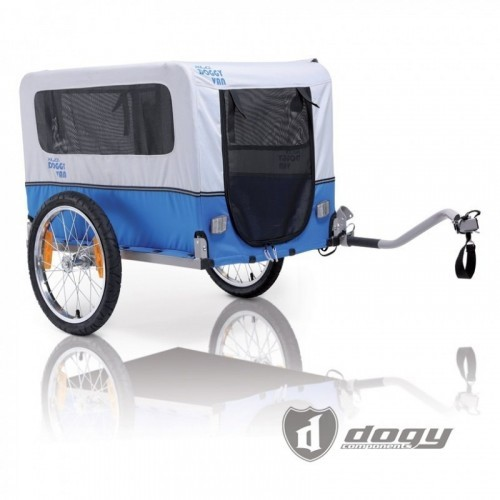 Nákladní vozík za kolo XLC CROOZER Dog 2019, modrý