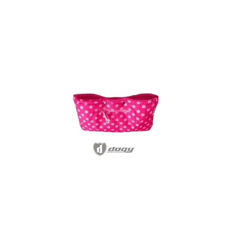 PINKIE rukávník na kočárek růžový