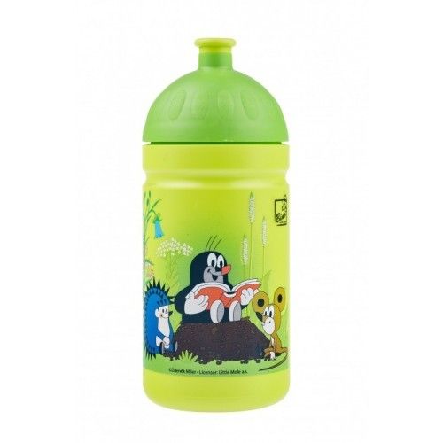 Zdravá cyklo lahev Krtek zelená 0,5 l