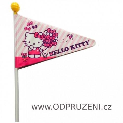 Praporek Hello Kitty na dětské kolo či vozík