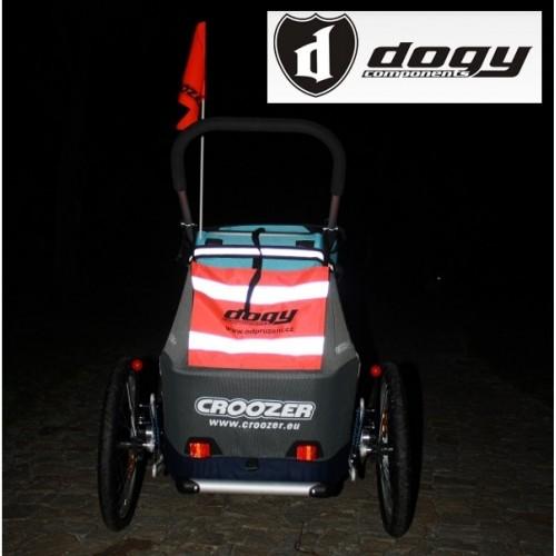 Bezpečnostní reflexní plachtička pro vozík CROOZER a XLC