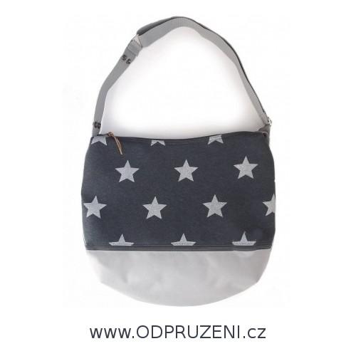 PINKIE taška na kočárek hvězdy