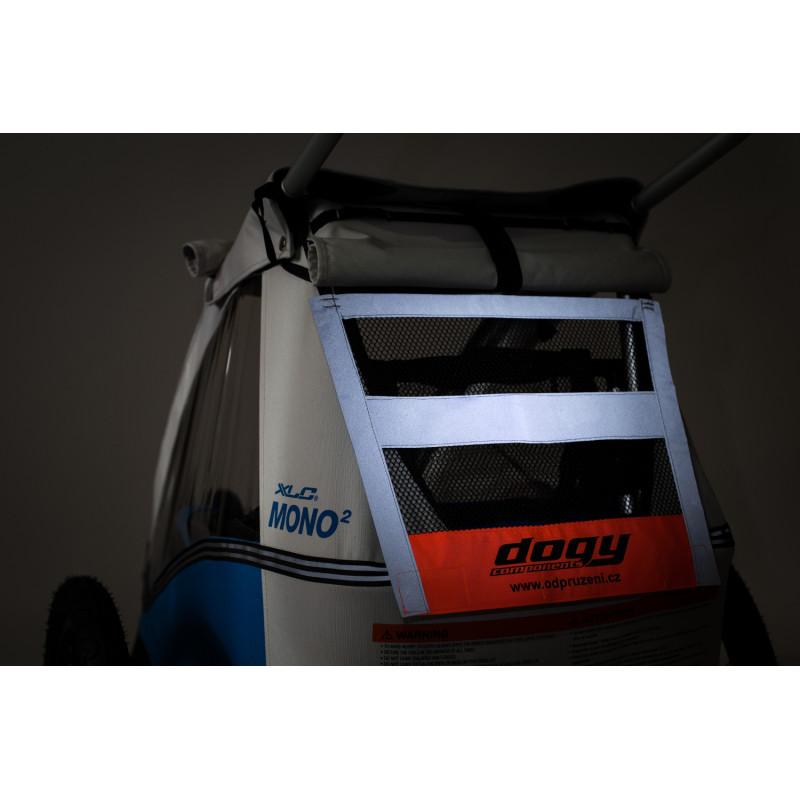 Větrací reflexní síťka na vozík CROOZER a XLC