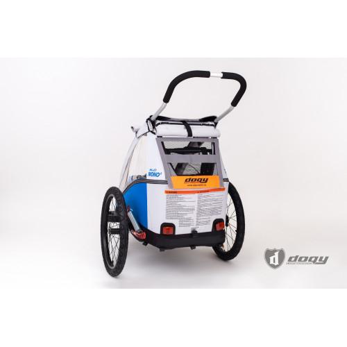 Šedá větrací reflexní síťka na vozík CROOZER a XLC