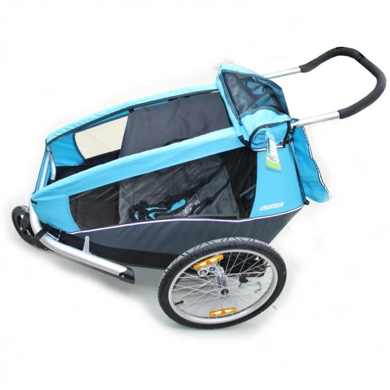 Boční sluneční clony DOGY pro vozík XLC