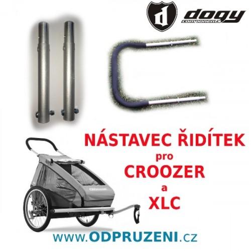 Nástavce řidítek pro vozíky CROOZER, XLC, Leggero