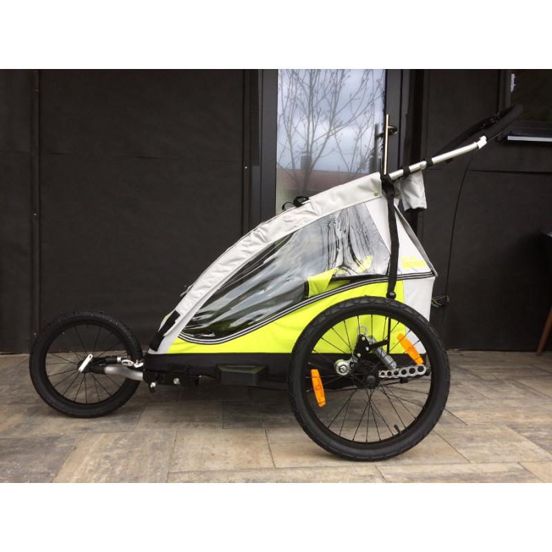 Odpružený cyklovozík XLC Plus green 2016