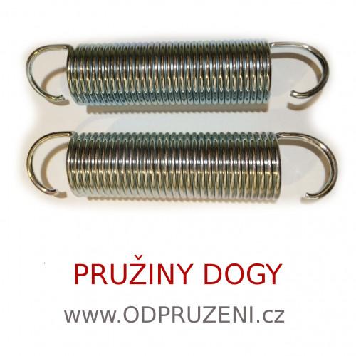 Pružiny k odpružení DOGY pro Croozer
