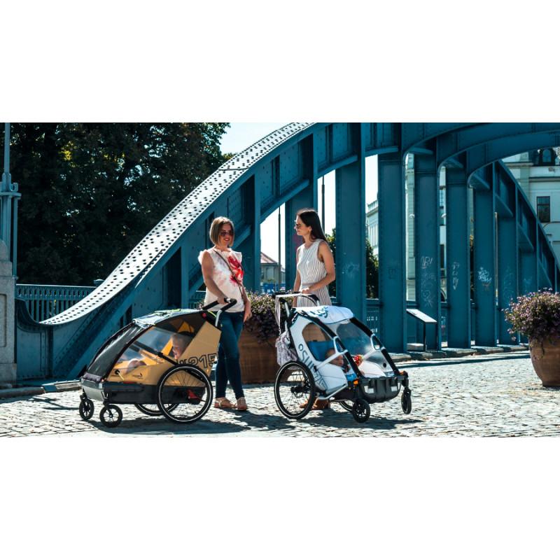 Švýcarské vozíky za kolo LEGGERO