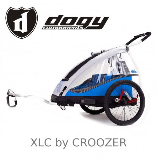 Odpružený vozík za kolo XLC by CROOZER MONO blue 2018