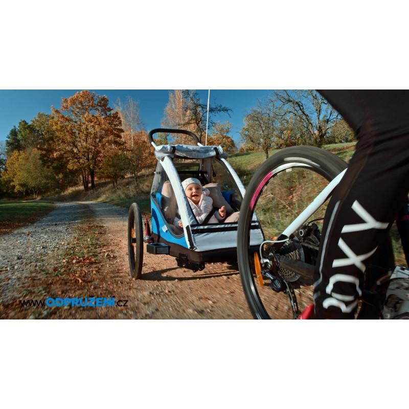 Vozík za kolo XLC by CROOZER blue 2018