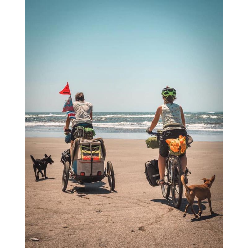 Vozík za kolo pro psa XLC by CROOZER blue 2018