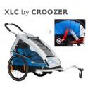 Odpružený vozík za kolo XLC MONO by CROOZER blue 2019