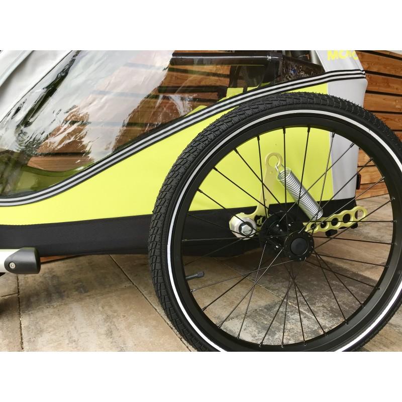 Odpružený cyklovozík XLC DUO Plus green 2018