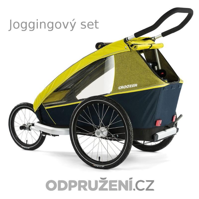 Cyklovozík CROOZER Kid for 1 2019, zelený