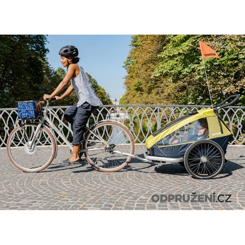 Cyklovozík CROOZER Kid for 1 2019, cyklo set