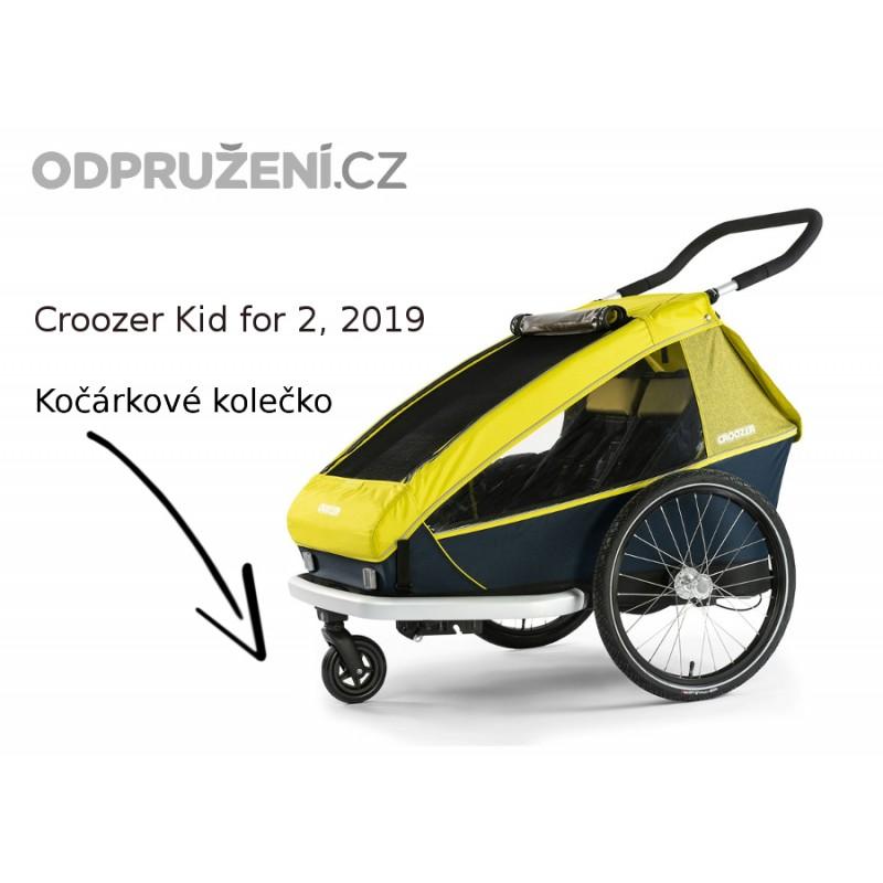 Cyklovozík CROOZER Kid for 2 2019, kočárkový set