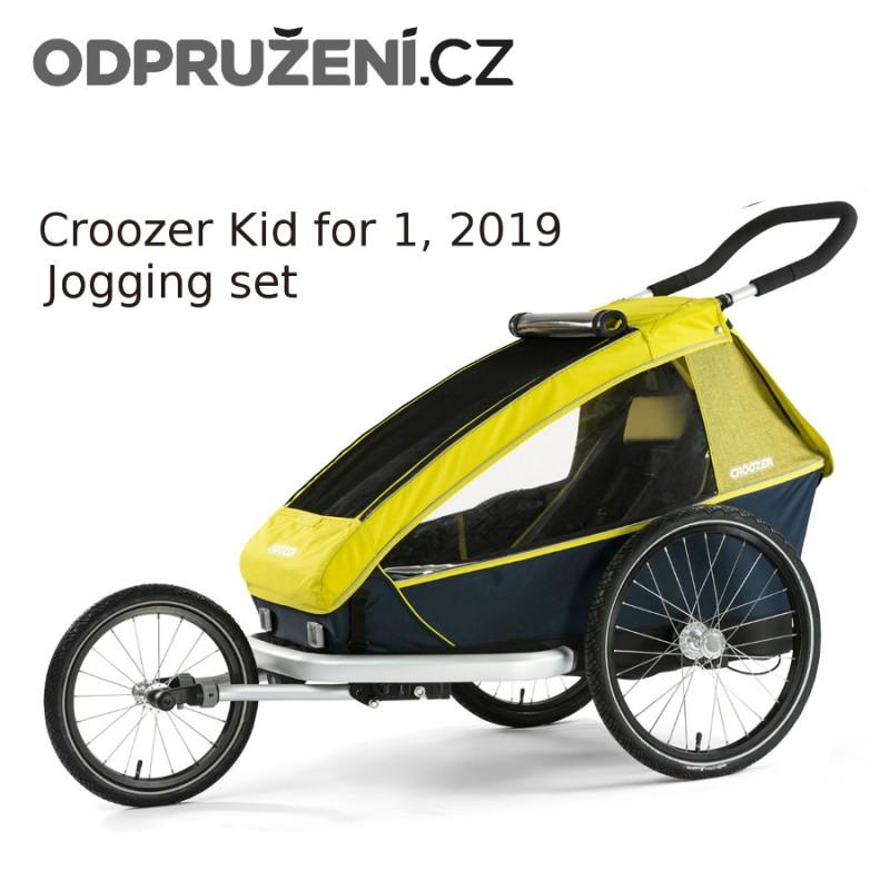 Cyklovozík CROOZER Kid for 1 2019, běžecký set