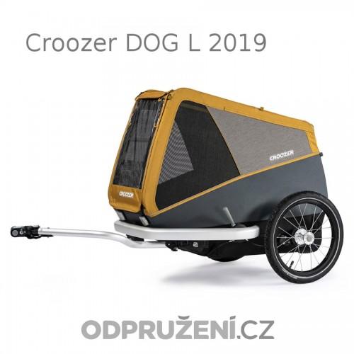 Cyklovozík CROOZER DOG L 2019, oranžový