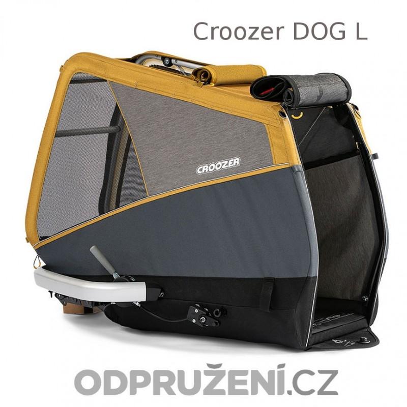 Cyklovozík CROOZER DOG L 2019, bouda