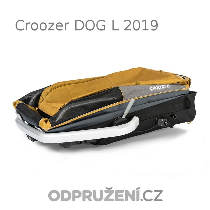 Vozík pro psa CROOZER DOG L 2019 složený