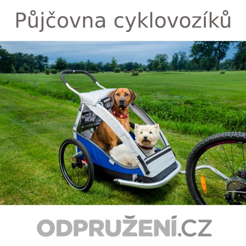 PŮJČOVNA vozíků za kolo pro psy