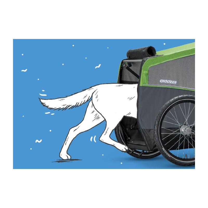 Cyklovozík CROOZER DOG L 2019, vstup pro pejska