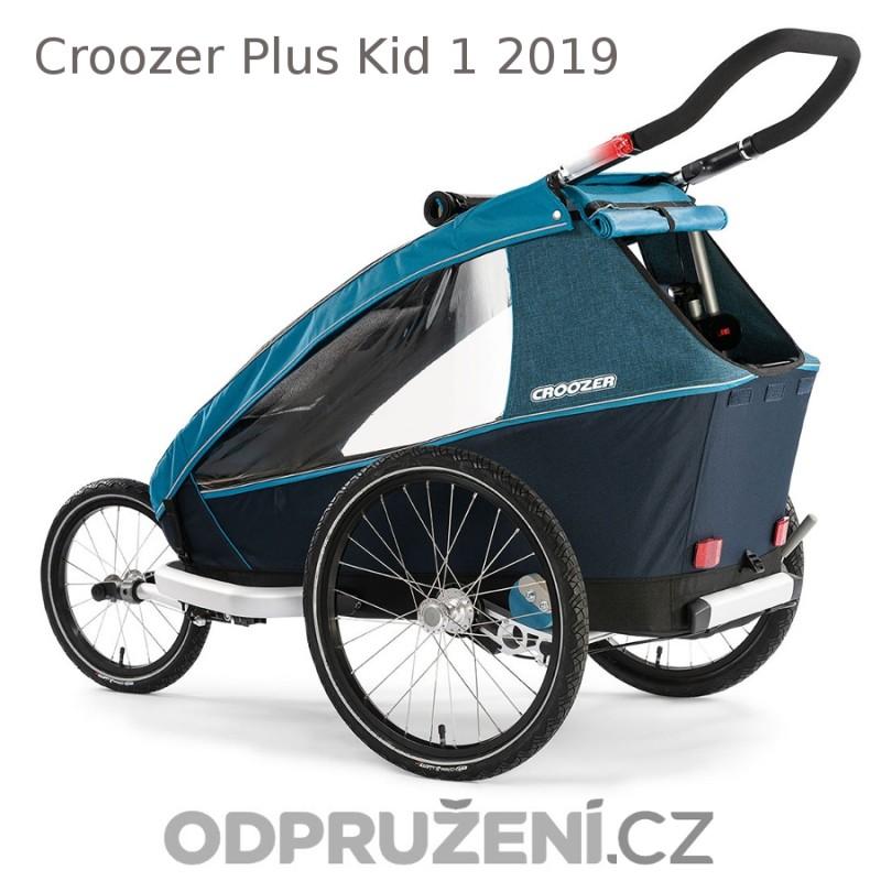 Vozík za kolo CROOZER Kid PLUS for 1 2019