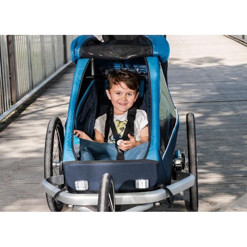 Cyklovozík CROOZER Kid PLUS for 1 2019, sezení