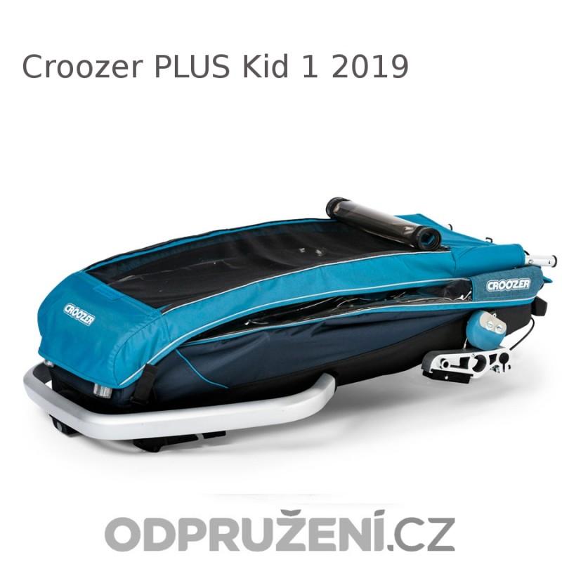 Cyklovozík CROOZER Kid PLUS for 1 2019, složený