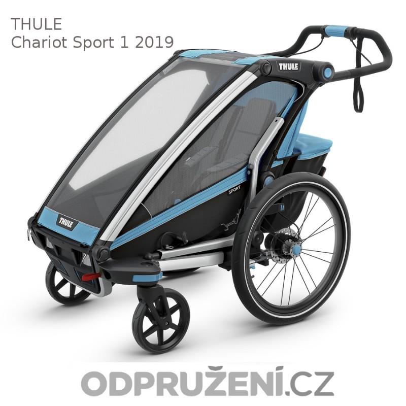 Thule Chariot Sport 1 modrý 2019, kočárek