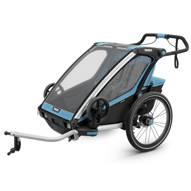 Thule Chariot Sport 2 Blue 2019 + DÁREK