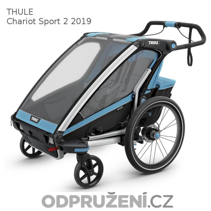 Thule Chariot Sport 2 Blue 2019 kočárek