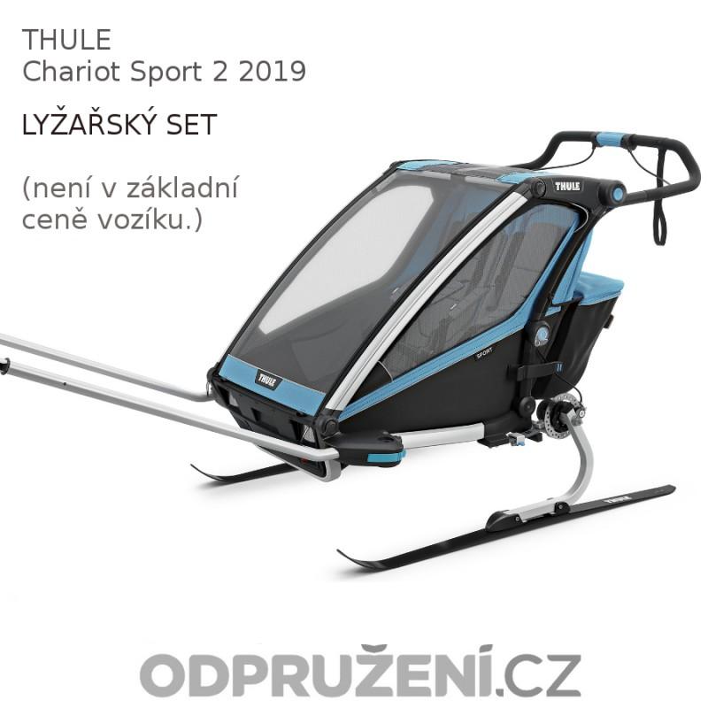 Thule Chariot Sport 2 Blue 2019 dětské saně