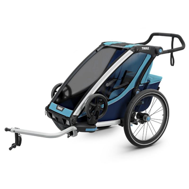 Thule Chariot Cross 1 Blue 2019 + DÁREK
