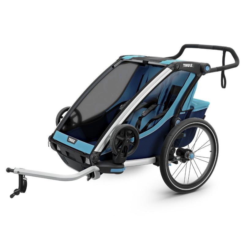 Thule Chariot Cross 2 Blue 2019 + DÁREK