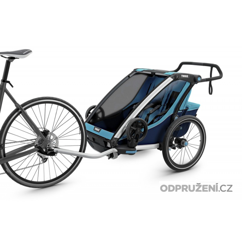 Thule Chariot Cross 2 Blue 2019 cyklo