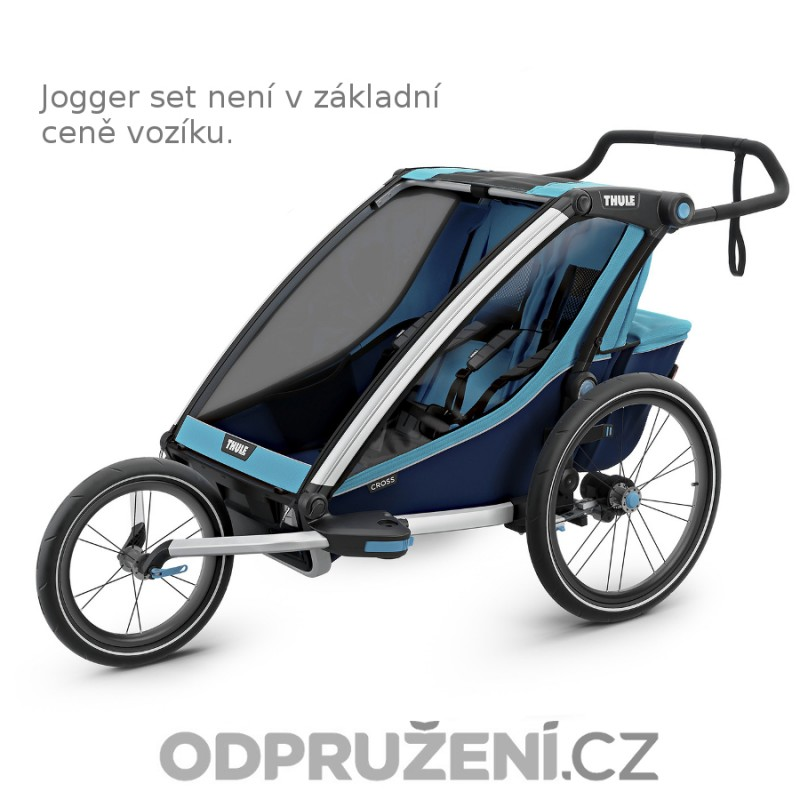 Thule Chariot Cross 2 Blue 2019 jogger