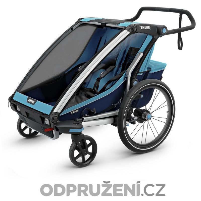 Thule Chariot Cross 2 Blue 2019 kočárek