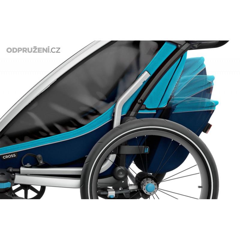 Thule Chariot Cross 2 Blue úložný prostor