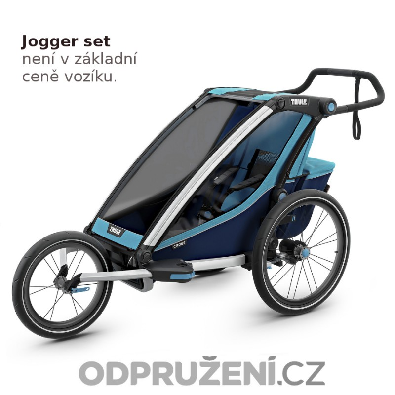 Thule Chariot Cross 1 Blue 2019 jogger set