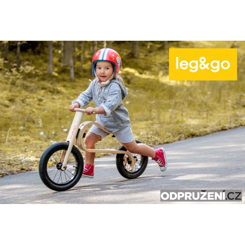 Leg&Go Dětské dřevěné odrážedlo