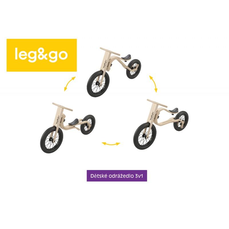Dětské odrážedlo Leg&go přestavby