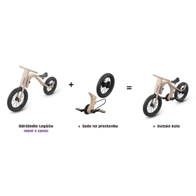 LEG&GO Dětské kolo