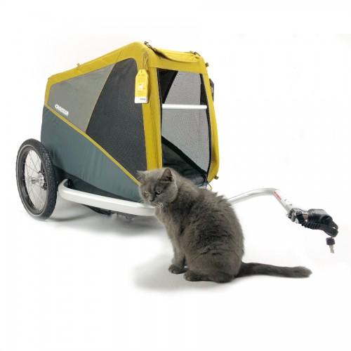 Cyklovozík CROOZER DOG Peppa L 2019, žlutý