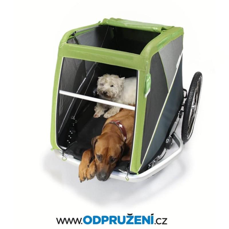 Vozík za kolo pro velké psy CROOZER DOG XL 2019