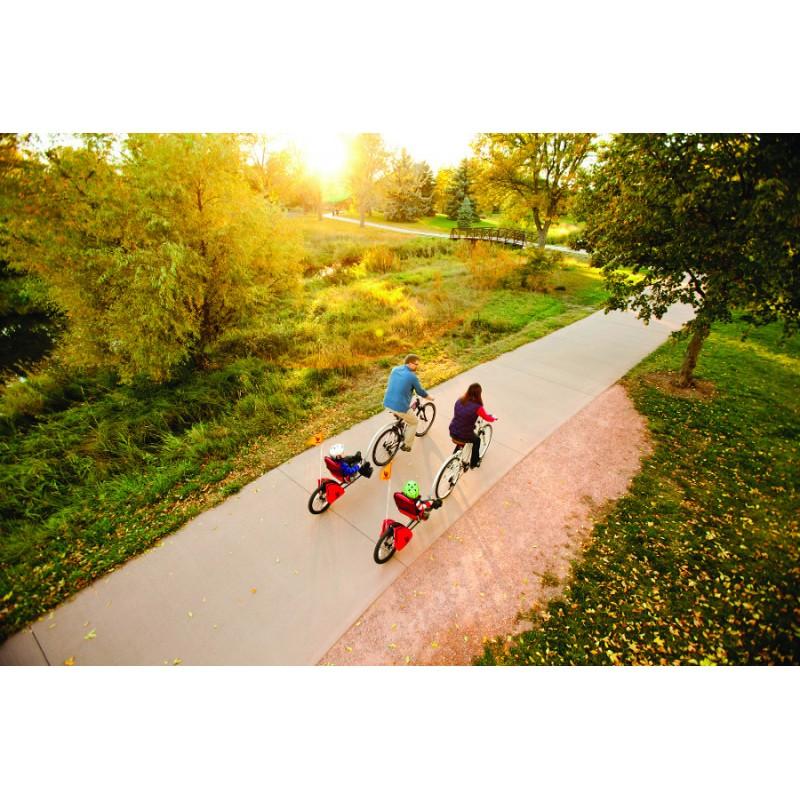 WeeHoo jednostopý dětský vozík za kolo