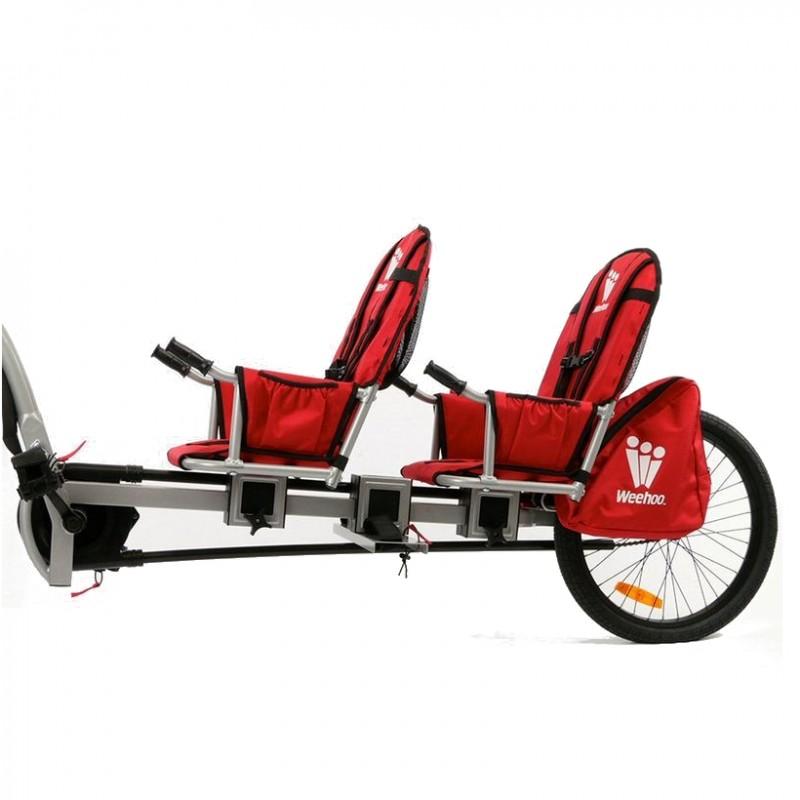 WeeHoo jednostopý dvoumístný vozík za kolo