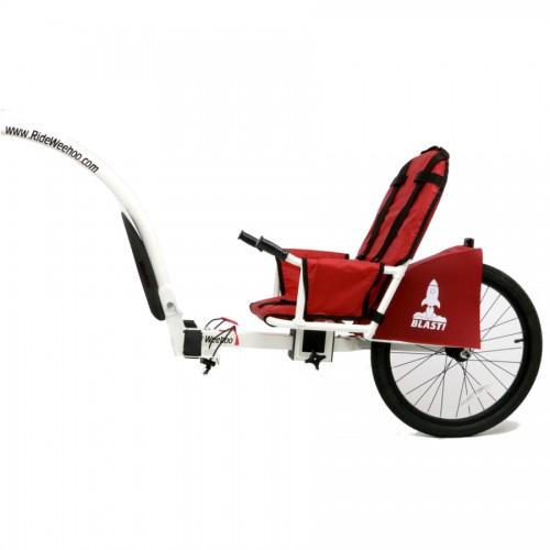 Cyklovozík Weehoo i-Go Blast červený